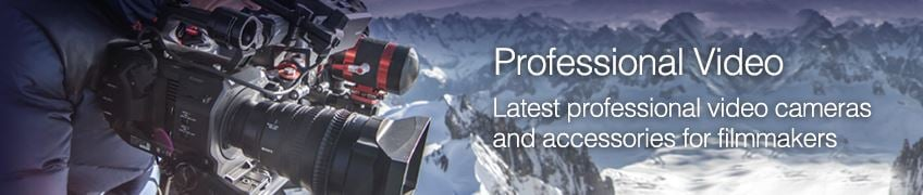 Professional Video Camera and Accessory Offers