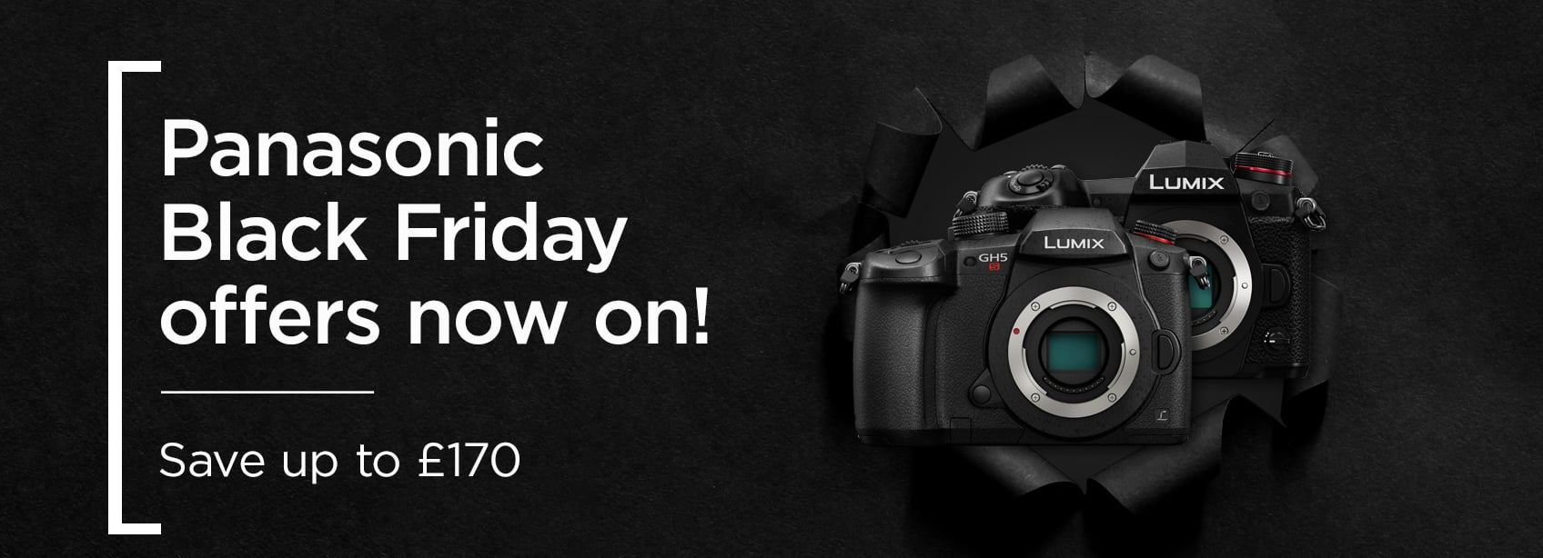 Panasonic Black Friday offers now on! Save up to £170