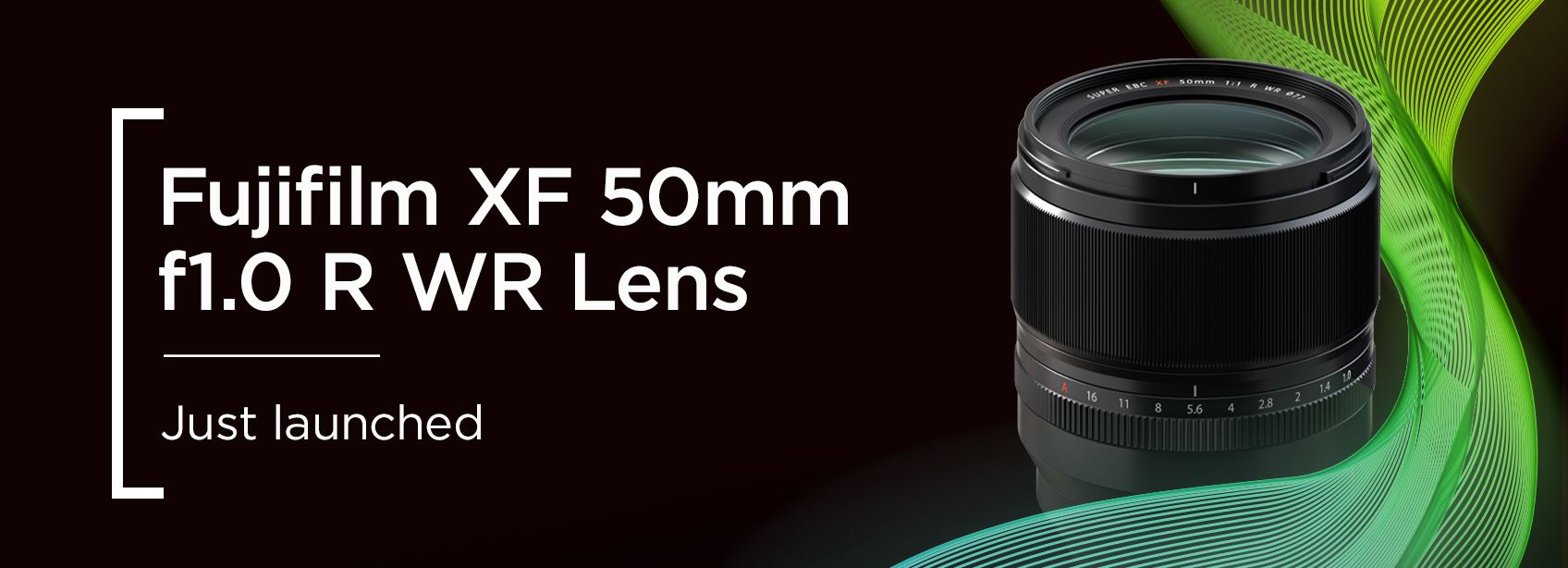 Fujifilm XF 50mm f1.0 R WR Lens - Just launched