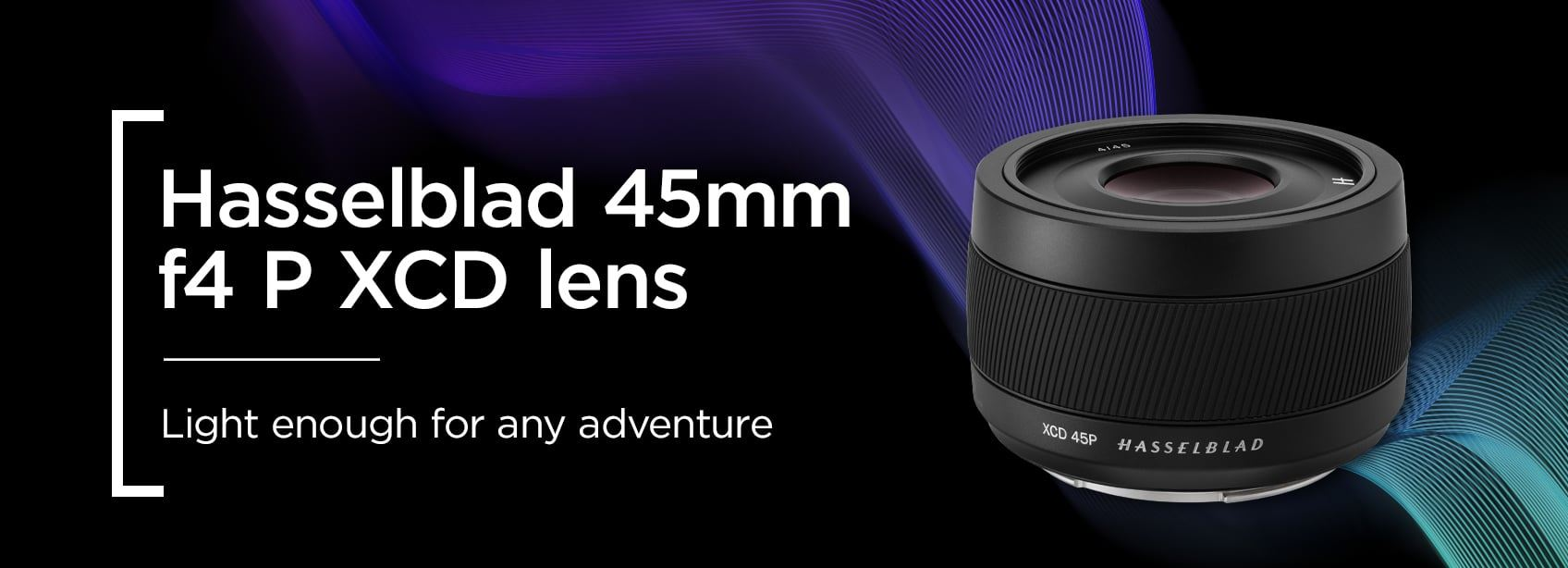 Hasselblad 45mm f4 P XCD lens - Light enough for any adventure