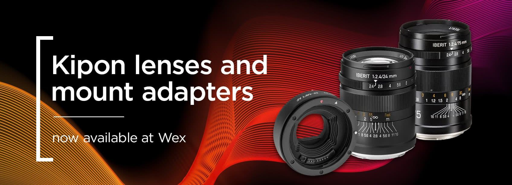 Kipon lenses and mount adapters - now available at Wex