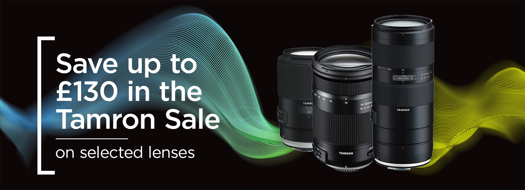 Tamron Sale, save up to £130