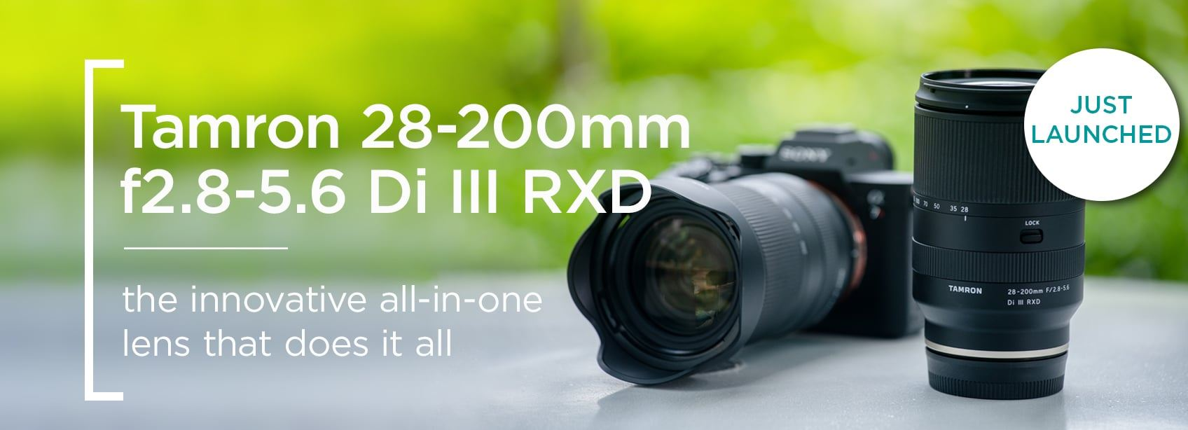 Tamron 28-200mm f20.8-5.6 Di III RXD - the innovative all-in-one lens that does it all