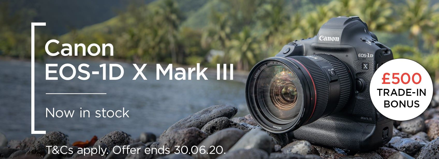 Canon EOS-1D X Mark III - Now in stock