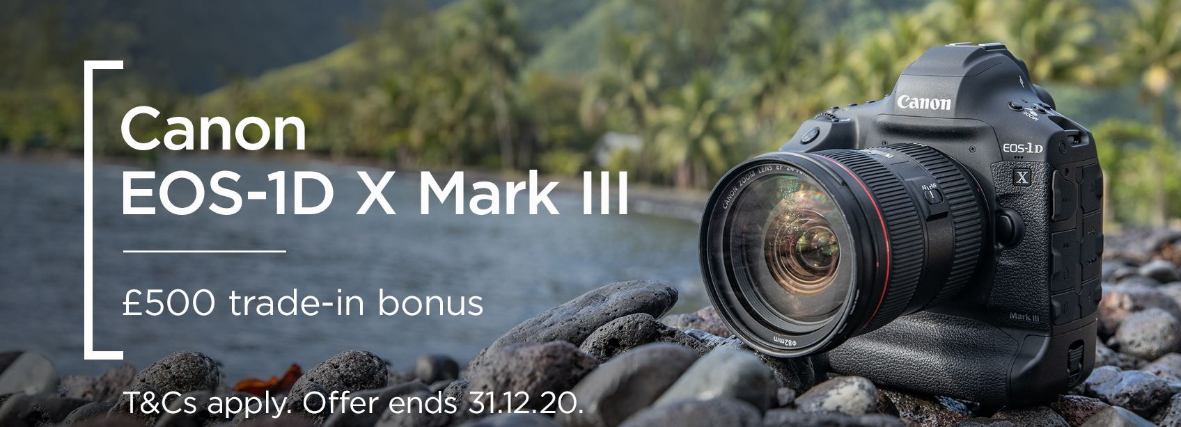 Canon EOS-1D X Mark III - £500 trade-in bonus
