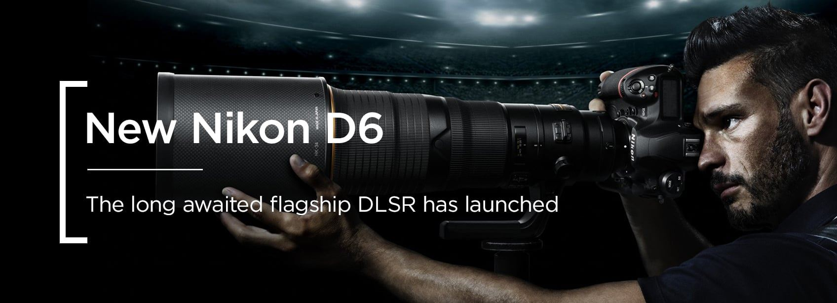 Nikon D6 DSLR - Just launched