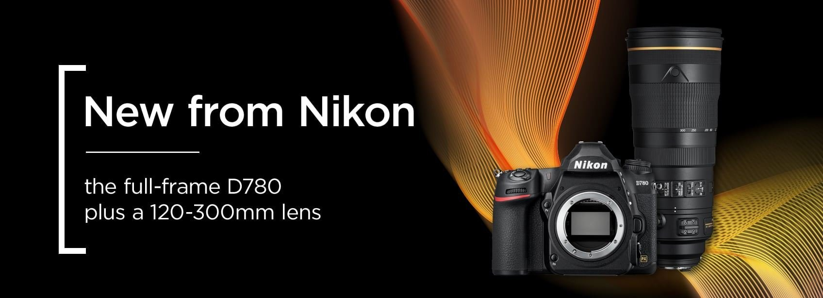 New from Nikon the full frame D780 plus a 120-300mm lens