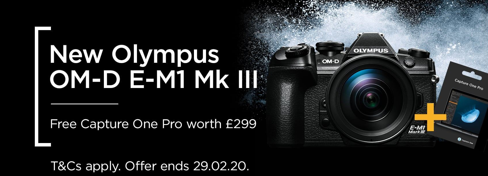 New Olympus OM-D E-M1 Mark II - Free Capture One Pro Worth £299