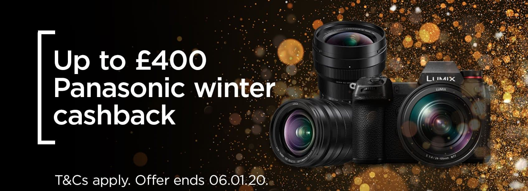 Panasonic Cashback | £400 Cashback on the Panasonic S1 and S1R