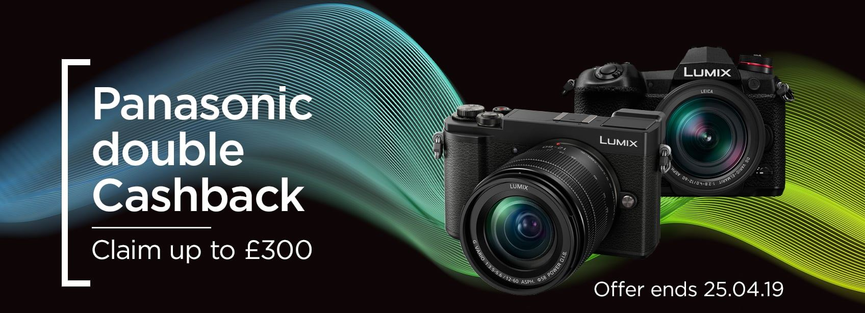 Panasonic Double Cashback