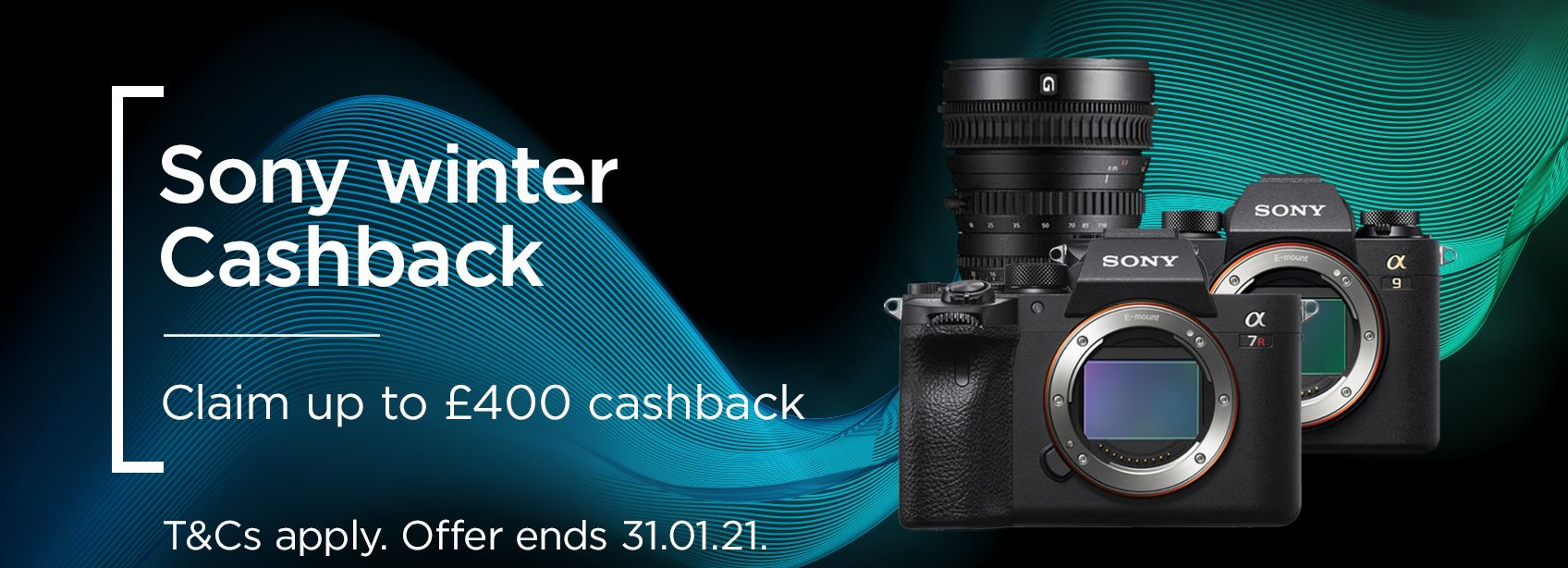 Sony Winter Cashback - Claim up to £400