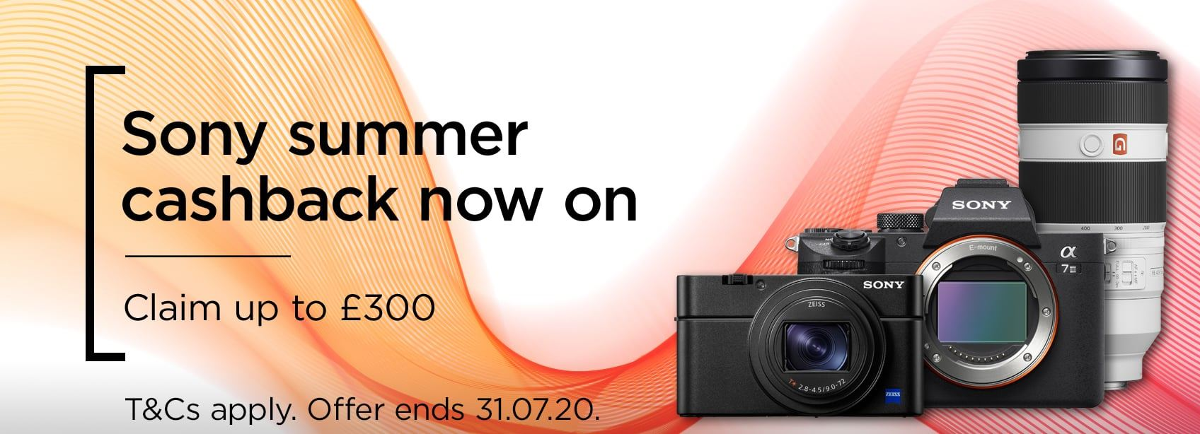 Sony Summer Cashback - Claim up to £300