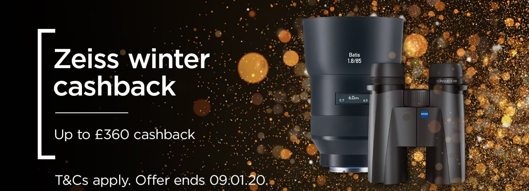 Zeiss Black Friday - Up to £360 cashback