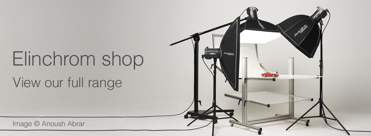 View the entire Elinchrom range in our Elinchrom shop