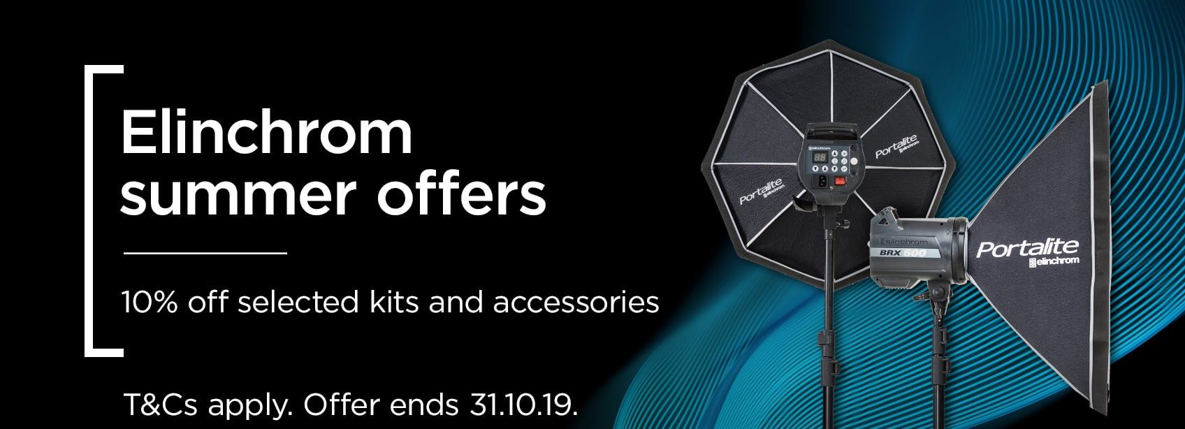 The latest offers from Elinchrom| 10% off on selected kits & accessories