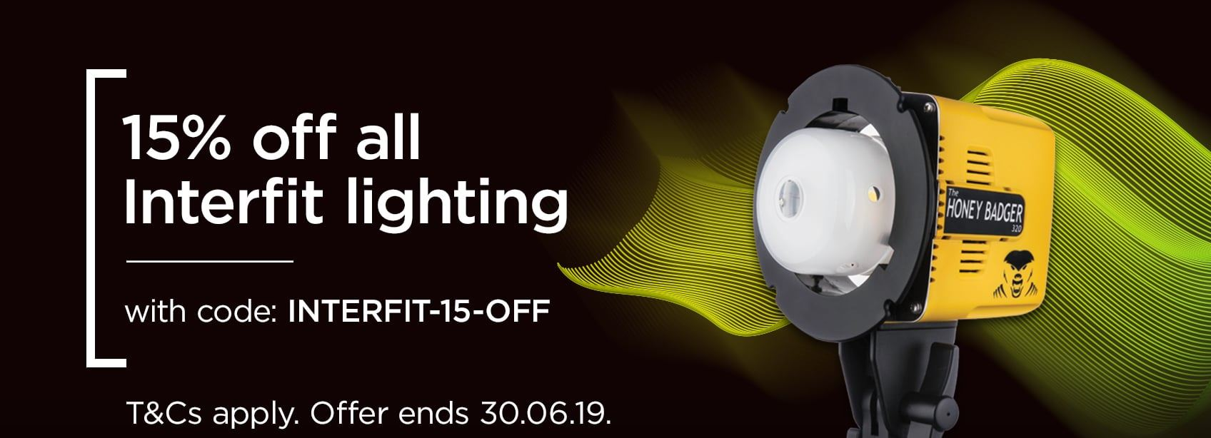 15% Off Interfit with INTERFIT-15-OFF