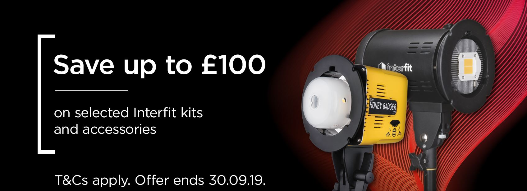 The latest offers from Interfit | Save up to £100!