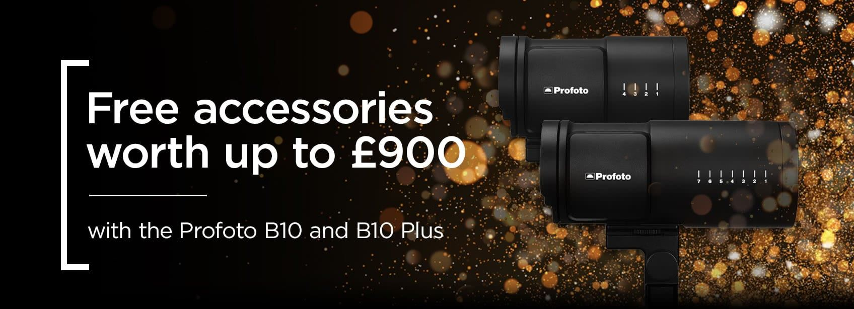 Profoto B10 Accessory Offer - Up to £900 of free Light Shaping Tools
