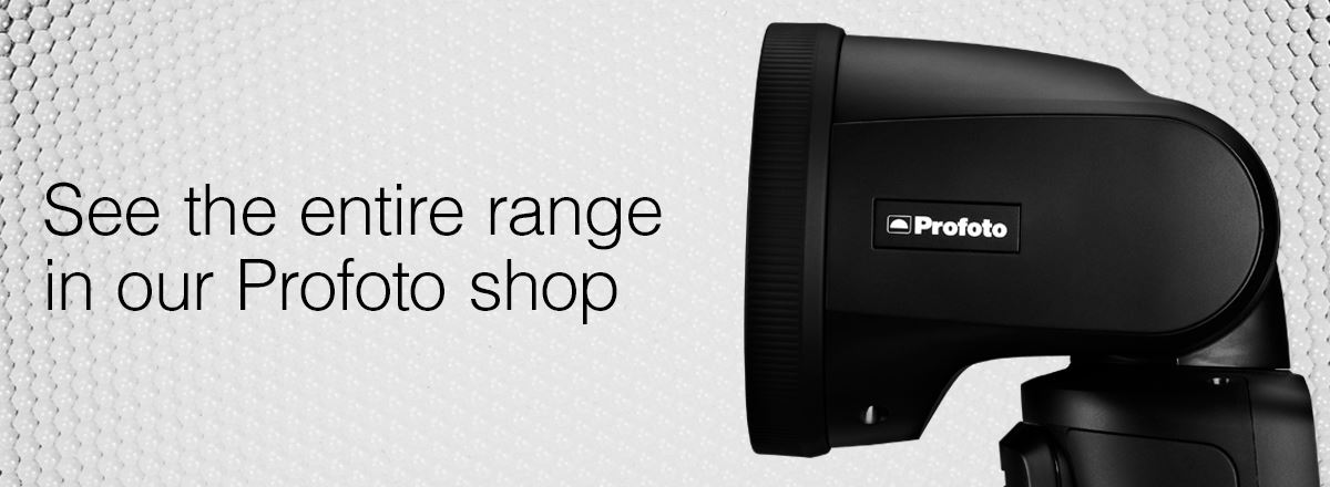 View the entire Profoto range in our Profoto shop