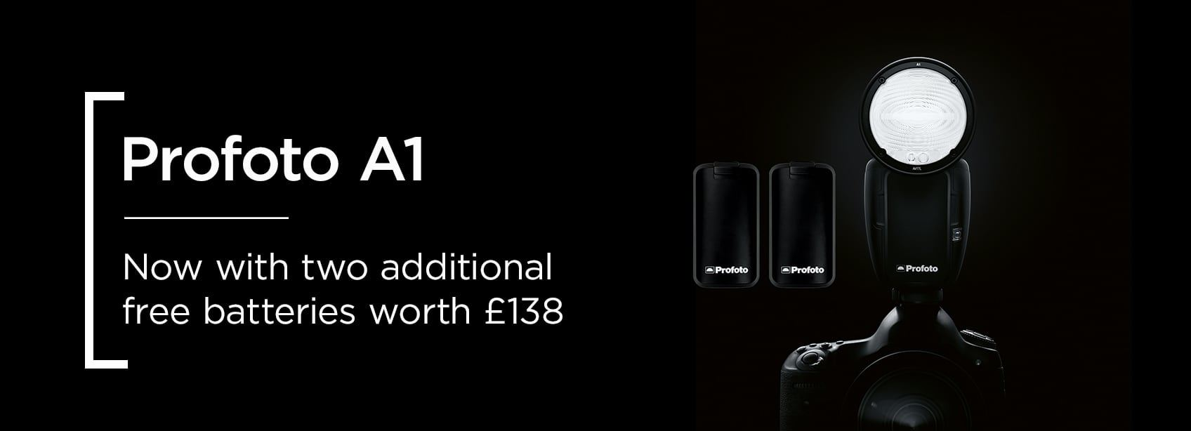 Profoto A1 | Now with two free batteries worth £138