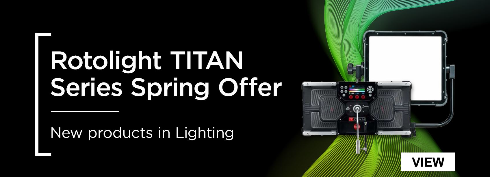 Huge Savings on the Rotolight Titan X1 and X2 this Spring