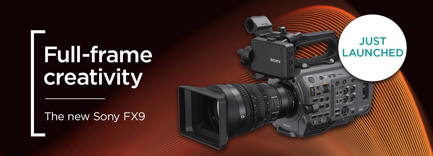 Full-frame creativity | The new 6K Sony FX9
