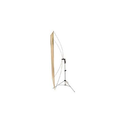 Image of Interfit Gold/Silver Flat Panel Reflector and Stand