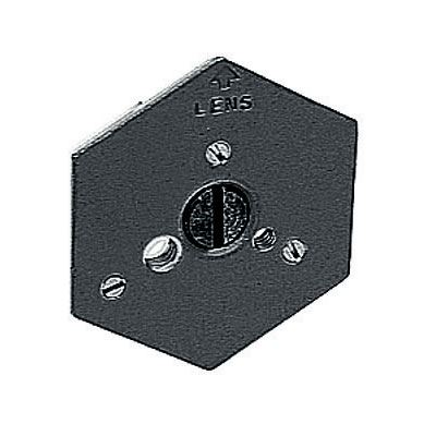 Manfrotto 130-38 Hexagonal Plate 3/8 Flat Base