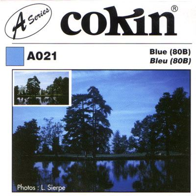 Image of Cokin A021 Blue 80B Filter