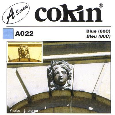 Image of Cokin A022 Blue 80C Filter
