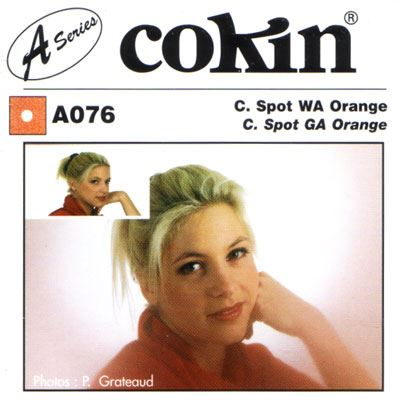 Image of Cokin A076 C Spot WA Orange Filter