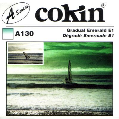 Cokin A130 Gradual Emerald E1 Filter