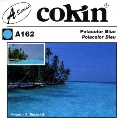Cokin A162 Polacolour Blue Filter
