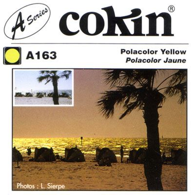 Image of Cokin A163 Polacolour Yellow Filter