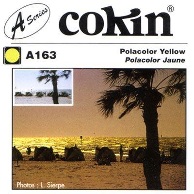 Cokin A163 Polacolour Yellow Filter
