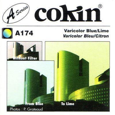 Cokin A174 Varicolour Blue/Lime Filter