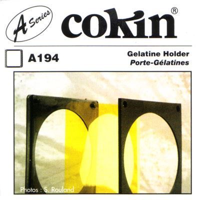 Image of Cokin A194 Gelatine Holder Filter