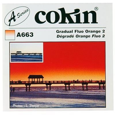 Cokin A663 Gradual Fluorescent Orange 2 Filter