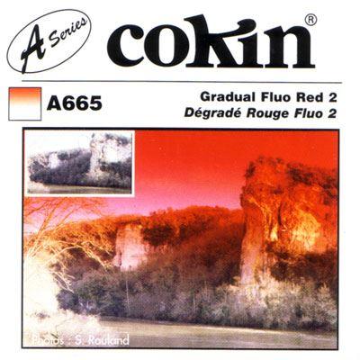 Cokin A665 Gradual Fluorescent Red 2 Filter