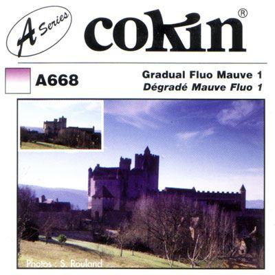 Cokin A668 Gradual Fluorescent Mauve 1 Filter