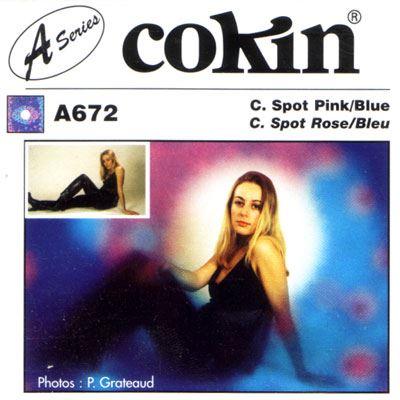 Cokin A672 C Spot Pink/Blue Filter