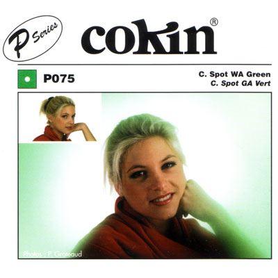 Cokin P075 C Spot WA Green Filter