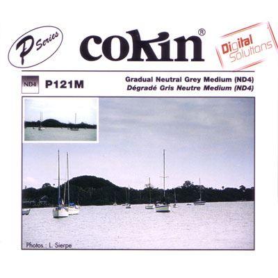 Cokin P121M Gradual Grey G2 Medium ND4 Filter