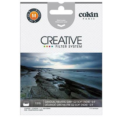 Cokin X121S Gradual Grey G2 Soft (ND8) Filter