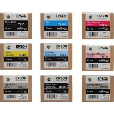 Complete Ink Set for Epson SureColor SC-P800