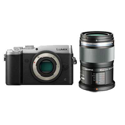 Panasonic Lumix DMC-GX8 Digital Camera with Olympus 60mm f2.8 Macro Lens