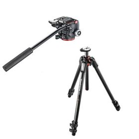Manfrotto MT055CXPRO3 Tripod + Manfrotto XPRO Fluid Head