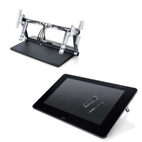Wacom Cintiq 27QHD Touch 27 Inch Creative Pen + Touch Display with Ergo Stand
