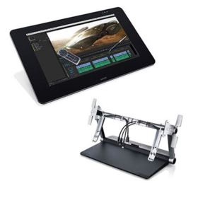 Wacom Cintiq 27QHD 27 Inch Creative Pen Display with Ergo Stand