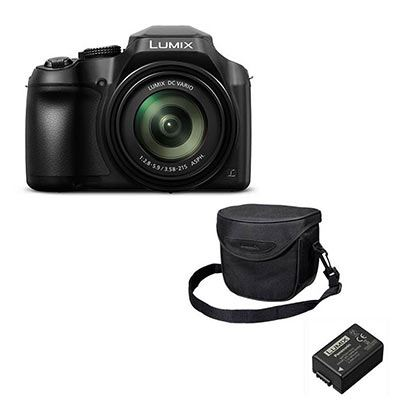 panasonic lumix dmc fz82 with accessory kit. Black Bedroom Furniture Sets. Home Design Ideas